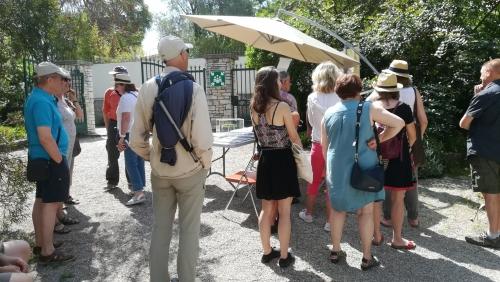 Animations au jardin Thuret le 16 septembre 2018 pour les 35èmes journées européennes du patrimoine