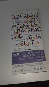 Journée européenne du patrimoine au jardin Thuret