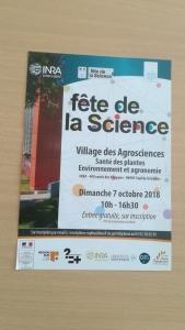 Participation de l'unité expérimentale Villa Thuret à la fête de la science