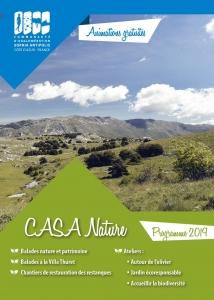 Programme CASA Nature 2019 au jardin Thuret