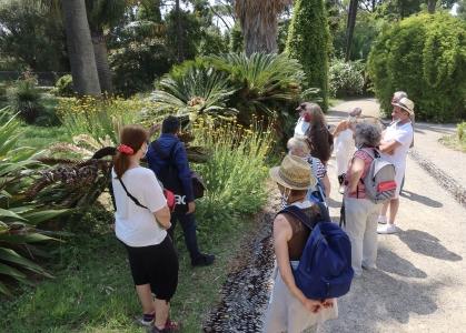 Programme d'INRAE Jardin Thuret Journées européennes du patrimoine 2021