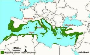 Carte Europe Bassin Mediterraneen.Le Jardin Botanique De La Villa Thuret D Antibes Le Bassin