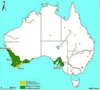 Carte de répartition de Banksia gardneri en Australie