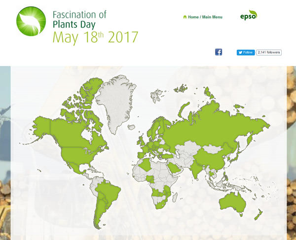 Plant Day 2017 Map